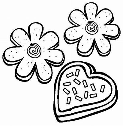 Cookie Coloring Pages Cookies Chocolate Chip Sugar