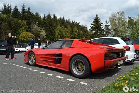 1/18 gt spirit gtspirit ferrari testarossa koenig competition evolution (red) resin car model. Ferrari Testarossa Koenig Widebody - 2 May 2015 - Autogespot