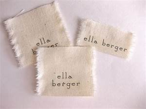 identify yourself in style with these 26 diy name tags With cloth name tags