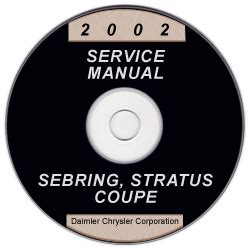 hayes auto repair manual 2003 chrysler sebring windshield wipe control 2002 chrysler sebring and dodge stratus coupe service manual cd rom