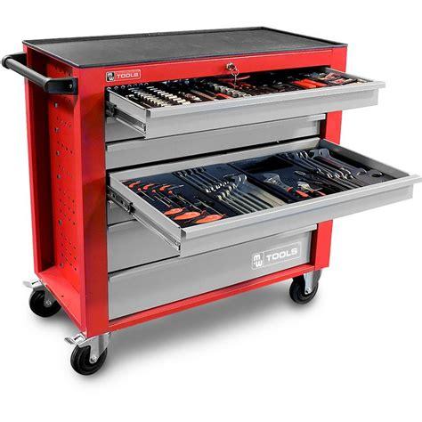 sol cuisine professionnelle servante d atelier complète large 441 outils