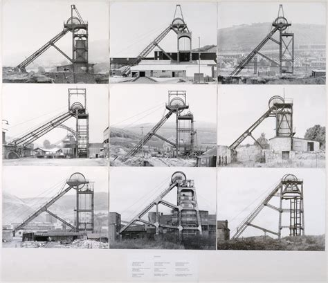 Bernd And Hilla Becher by The Photographic Comportment Of Bernd And Hilla Becher Tate