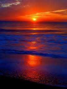 Beautiful Sunset Ocean Colors