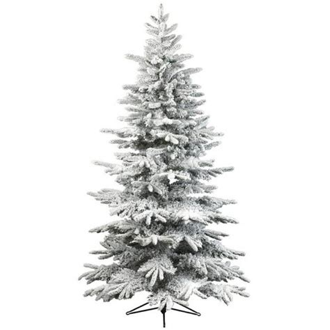 kaemingk everlands snowy alaskan flocked christmas tree