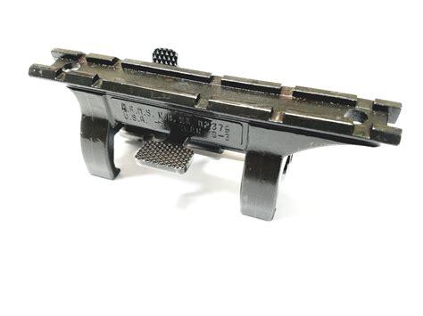 arms hk mp hk hk top rail optic claw mount quick detach excellent condition