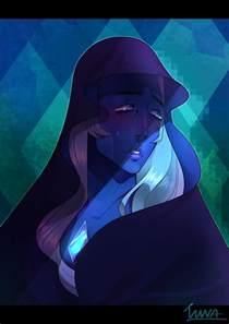 Steven Universe Diamond Blue