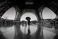Black and White Photography Eiffel Towe…