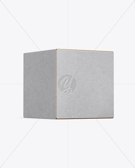 This shopping bag mockup to showcase your branding design in a photorealistic look. Kraft Box Mockup - Half Side View in Box Mockups on Yellow ...