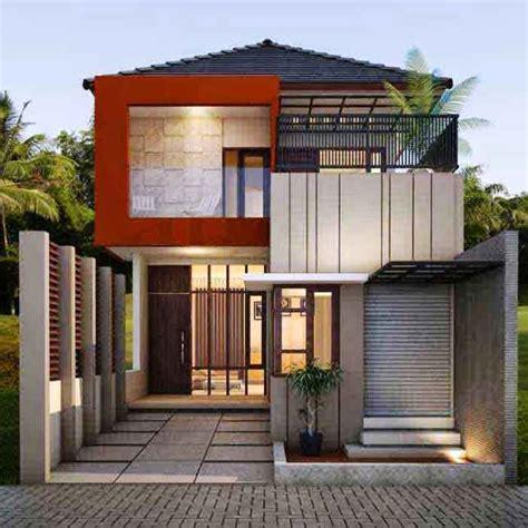 desain rumah minimalis  lantai  indah alita store
