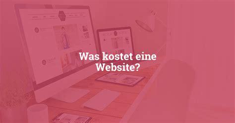Was Kostet Eine Website?