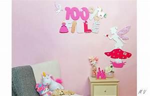 Deco Chambre Fille Princesse : dcoration princesse chambre fille amazing ange fe magique ~ Teatrodelosmanantiales.com Idées de Décoration