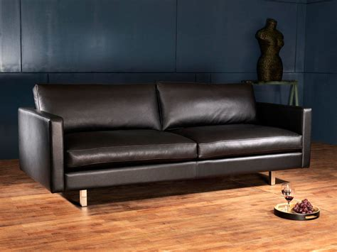 couture canapé cuir canape cuir scandinave votre canapé en cuir design