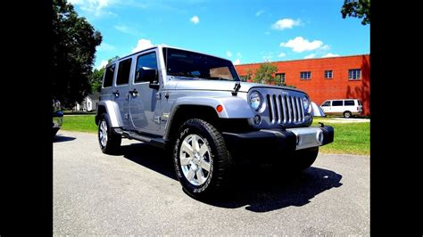 jeep wrangler unlimited sahara youtube