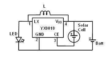 yx8018 pdf datenblatt solar led driver datasheet