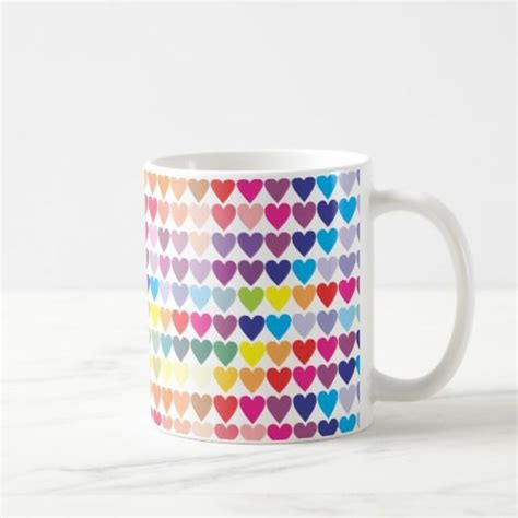 Product title woven paths farmhouse style mugs, set of 4, blue average rating: Colorful love hearts, pretty girly coffee mug #pretty #mugs   Fundas para iphone, Altavoces ...