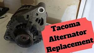 How To Replace The Alternator On Your Tacoma  6 Cyl   U2013 Car