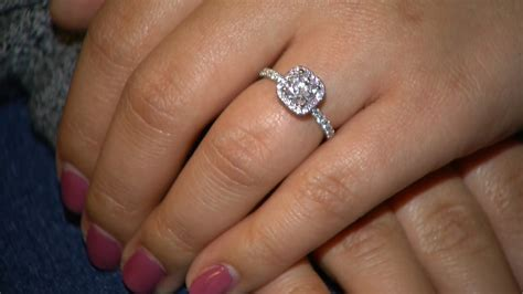 engagement ring found after being flushed the toilet today
