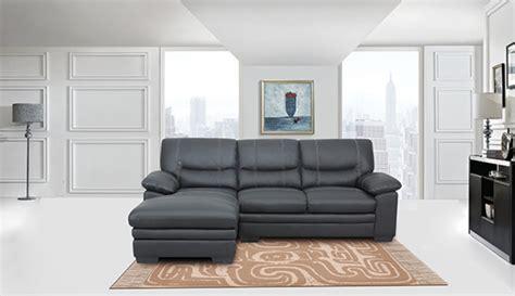 meuble martin canapé canapé d 39 angle à droite martin noir