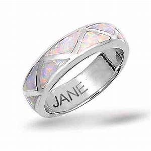 wedding opals and opal wedding bands on pinterest With mens opal wedding rings