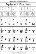 Equivalent Fractions Worksheet FREE Printable Worksheets Worksheets For Fraction Multiplication First Grade Fractions Worksheets Fractions Quiz Equivalent Fractions Worksheet 5th Grade Car Interior Design