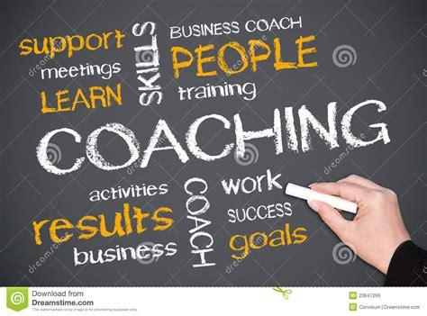 coaching royalty  stock images image
