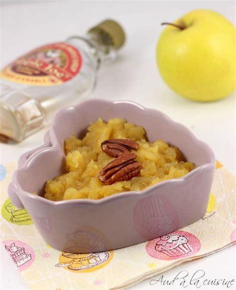 aud a la cuisine compote de pommes au sirop d 39 érable aud 39 à la cuisine