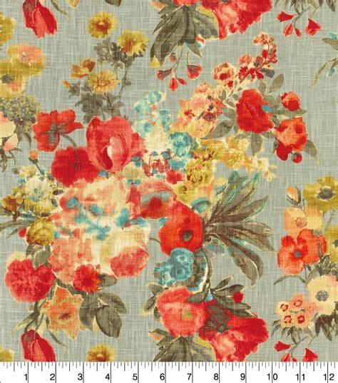foto de Home Decor Print Fabric HGTV HOME Garden Odyssey Fog JOANN