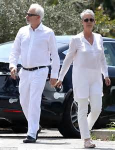 wedding shoes essex curtis and husband christopher guest look like a