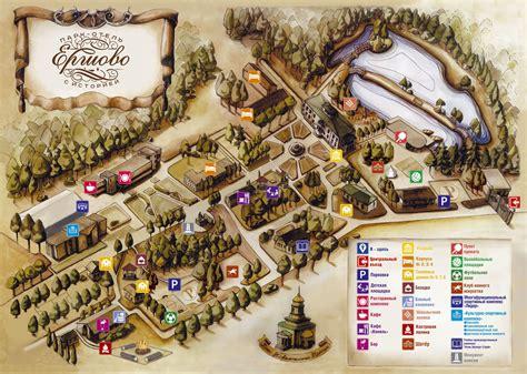 Карта парк-отеля