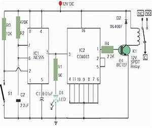 Magnetic Proximity Switch Circuit