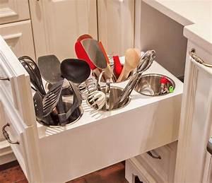 Rangement Ustensile Cuisine : 12 fa ons de gagner de l 39 espace de comptoir cuisine muramur ~ Melissatoandfro.com Idées de Décoration