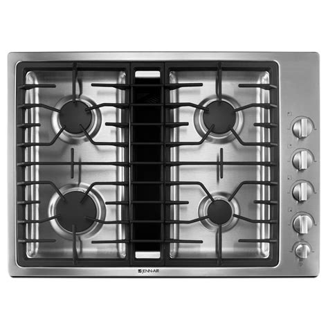 downdraft gas cooktop jenn air jgd3430ws 30 quot gas downdraft cooktop