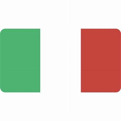 Italy Icon Flag Flat Icons Europe Italian