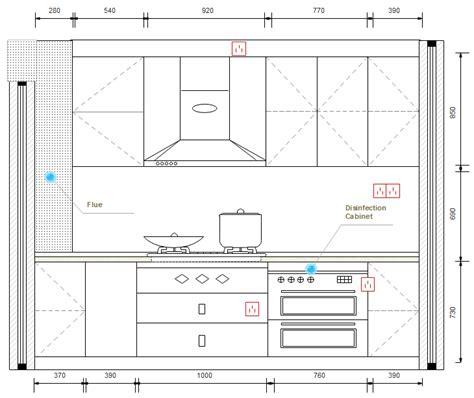 plan electrique cuisine symboles pour plan de construction cuisine et salle de bains