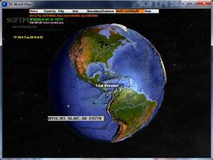 3D World Map Download
