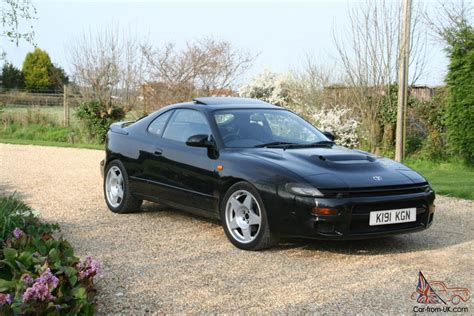 1992 Toyota Celica Gt4 Turbo Black