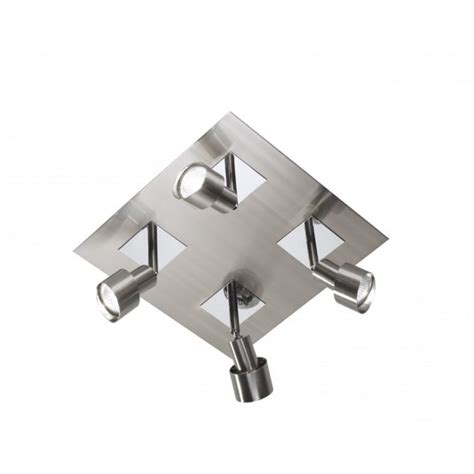 4 spotlight ceiling light buy kitchen ceiling spotlights square spot cluster in