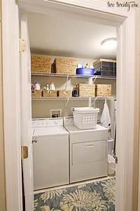 laundry room makeovers Laundry Room Organization