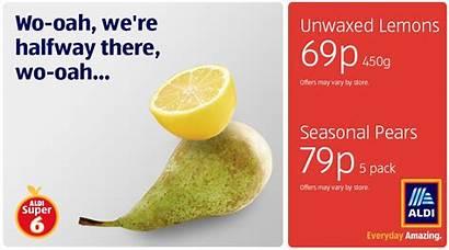 Lemon Pear Meme Aldi There Halfway Ad