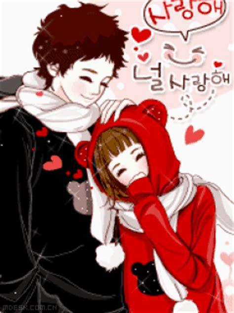 foto anime korea romantis trend fashion korea terbaru gambar kartun korea sweet