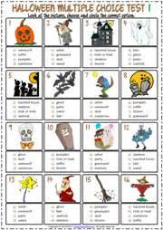 halloween esl printable worksheets  exercises