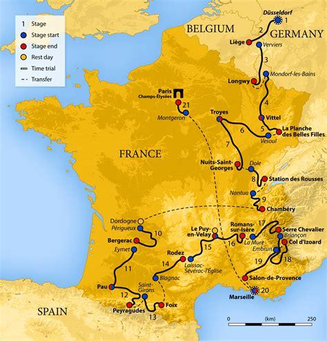 The 2021 tour de france will be the 108th edition of the tour de france, one of cycling's three grand tours. Tour de France 2017. Le parcours détaillé étape par étape