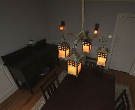 craftsman lighting dining room 12 best craftsman style chandeliers images on pinterest
