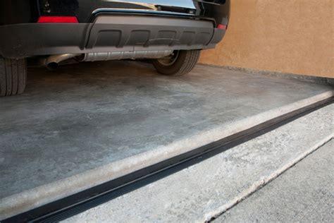 Garage Threshold by Garage Door Threshold Installation Options Furniture