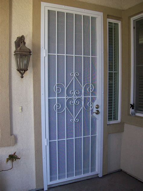 security screen doors patio security door
