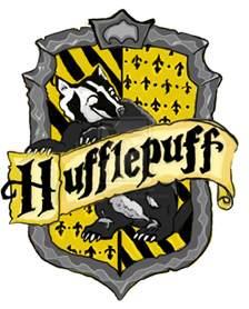 Hufflepuff House Crest Printable
