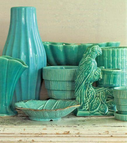 mccoy pottery ideas  pinterest mccoy pottery