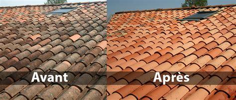 mousse sur toiture tuiles nettoyage de toitures traitement anti mousse hydrofugation