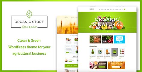 organic store organic food eco products theme rtl by axiomthemes
