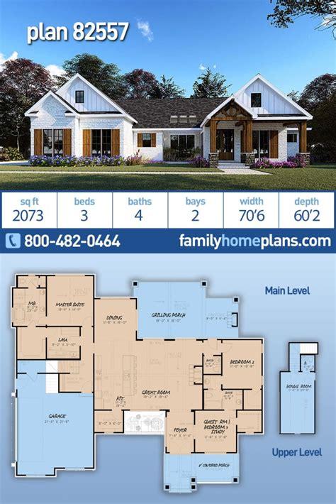 modern ranch house plan   square feet family home plans blog